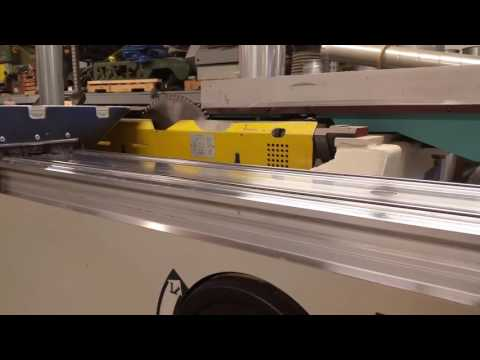 Holz-Her 1243 sliding table saw