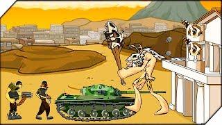 Age of war 2 - это одна из самых скачиваемых флеш игр. Игра представляет смесь нескольких жанров, это и тактическая стратегия, и игра на развитие свое цивилизации. Вы начинаете с первобытно общинного строя и если ваша игра будет успешна, вы сможете развиться до эры роботов и умных машин.Игра Age of war 2 Generals  обзор и прохождение от Воблера. ▀ Age of war 2 ➤ https://goo.gl/smLhSf▀ Мой канал ➤ http://www.youtube.com/user/wobbler1t...▀ Подпишись на Группу в VK ➤http://vk.com/wobbler_gameНа канале ты увидишь: новинки игр 2017 года, симуляторы, песочницы, экшен-шутеры, различные инди игры. Самые топовые игры на андроид. А так же обзоры, летсплеи и прохождение игр на русском.