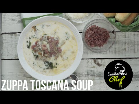 How To Make The Best Copycat Olive Garden Zuppa Toscana Soup... But Better. Creamy, Yummy, Delicious