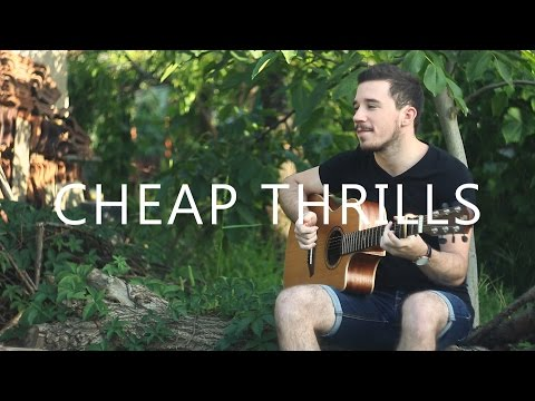 Cheap Thrills - Sia fingerstyle guitar Instrumental cover