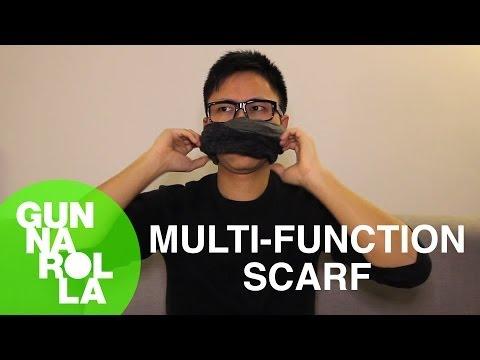 Magical Multifunction Malfunction Scarf (Canadian Asian Fashion)