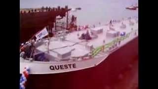 queste launching  altıntaş shipyard. yalova altınova tersaneleri