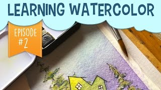 Using Less Water With Watercolor  Painting Gradients and Flat WashesWelcome to episode 2 of my learning watercolor series! For episode one click the following link: https://www.youtube.com/edit?o=U&video_id=ws3fXPsZZGQAs some of you may know, I've been learning how to watercolor, and sharing my experience along the way! In my first video in this watercolor series, I learned that using less water with watercolor is better than more. I decided to take today's exercise to practice painting gradients and flat washes, and guess what? I learned a couple of more watercolour tips! Subscribe to peer into a day in the life of a freelance illustrator, and share if you care! :)Last Video: https://www.youtube.com/edit?o=U&video_id=WDeW4YKhK14Shop here: https://www.etsy.com/your/shops/pigknit/tools/listings/section:19896210------------------------------------------------------------------------------------------Art Materials Used in This Video: Watercolor Palette: https://www.amazon.com/gp/product/B0197FQYWQ/ref=as_li_tl?ie=UTF8&camp=1789&creative=9325&creativeASIN=B0197FQYWQ&linkCode=as2&tag=pigknit-20&linkId=2202441273bbe0645bc49c567bf770cfWatercolor Sketchbook: https://www.amazon.com/gp/product/8883705629/ref=as_li_tl?ie=UTF8&camp=1789&creative=9325&creativeASIN=8883705629&linkCode=as2&tag=pigknit-20&linkId=00a51614f609bce1cfa90ec6047e97ecMicron Pen: https://www.amazon.com/gp/product/B000XAL0O2/ref=as_li_tl?ie=UTF8&camp=1789&creative=9325&creativeASIN=B000XAL0O2&linkCode=as2&tag=pigknit-20&linkId=9bafe03ef272c80628dff55b66608042------------------------------------------------------------------------------------------Filming Equipment Used:Canon Powershot S110: https://www.amazon.com/gp/product/B009B0MYSQ/ref=as_li_tl?ie=UTF8&camp=1789&creative=9325&creativeASIN=B009B0MYSQ&linkCode=as2&tag=pigknit-20&linkId=61eb3228c57da1bd4d00fcc98809a720Manfrotto Mini Tripod: https://www.amazon.com/gp/product/B00GUND8XM/ref=as_li_tl?ie=UTF8&camp=1789&creative=9325&creativeASIN=B00GUND8XM&linkCode=as2&tag=pigknit-20&linkId=0606a7ba650f0ff2862dc287e3459864Blue Snowball Microphone:https://www.amazon.com/gp/product/B006DIA77E/ref=as_li_tl?ie=UTF8&camp=1789&creative=9325&creativeASIN=B006DIA77E&linkCode=as2&tag=pigknit-20&linkId=573fe459c7397c6e3b9adaa488738209OttLite Task Lamp: https://www.amazon.com/gp/product/B004Q0CUXA/ref=as_li_tl?ie=UTF8&camp=1789&creative=9325&creativeASIN=B004Q0CUXA&linkCode=as2&tag=pigknit-20&linkId=8a48246dca0974ec6a6a5c02ae22acc8------------------------------------------------------------------------------------------Background Music: https://soundcloud.com/kevin-9-1/martini-sunsethttps://soundcloud.com/davidhydemusic/acousticfolk-instrumental-mumford-sons-inspired-free-download------------------------------------------------------------------------------------------Etsy:  https://www.etsy.com/shop/pigknitwww.pigknit.comFacebook: https://www.facebook.com/pigknit/Twitter: https://twitter.com/pigknitTumblr: https://www.tumblr.com/blog/pigknitInstagram: @pigknitSnapchat: PigknitThanks for watching!