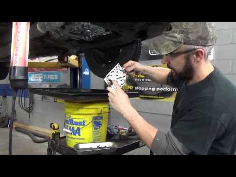 Transmission Fluid and Filter Change – Toyota Camry