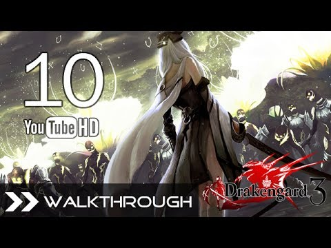 Drakengard 3 Walkthrough Gameplay English - Part 10 - Branch A - Chapter 3: Verse 2 - HD 1080p (видео)