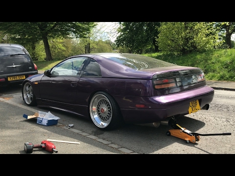 #TheZFiles - JDM Nissan Z32 300zx BBS Trial Fit and Plans for More Wheels.