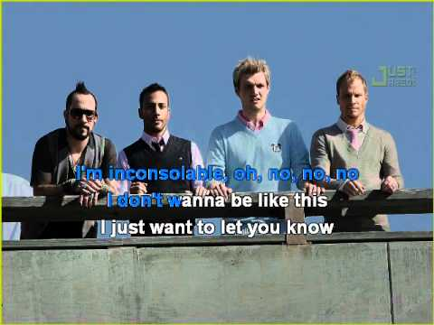 Backstreet Boys - Inconsolable Karaoke
