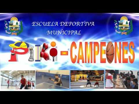 ESCUELA DEPORTIVA MUNICIPAL PIKICAMPEONES