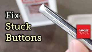 How to Fix Stuck Smartphone & Tablet Buttons Full Tutorial: http://gadgethacks.com/how-to/fix-stuck-button-your-smartphone-tablet-0165592/ Subscribe to Gadge...