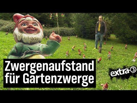 Realer Irrsinn: Gartenzwerg-Diskriminierung  | extra 3 | NDR