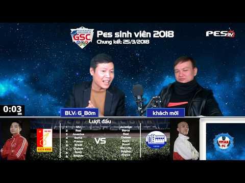 PES Sinh Viên 2018 | Giao Hữu PES Sinh Viên 2018 | Đại Học Bách Khoa Hà Nội vs Đại Học Thủy Lợi | 30-01-2018 | BLV: G_Bờm