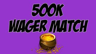 FIFA 13 - 500K WAGER MATCH VS TOBIIASGAMING - ULTIMATE TEAM