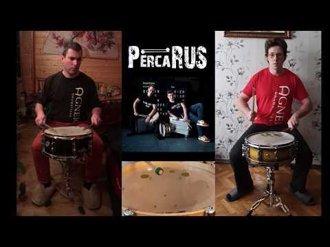 """DrumParade2020. Дуэт """"PERCARUS DUO""""."""