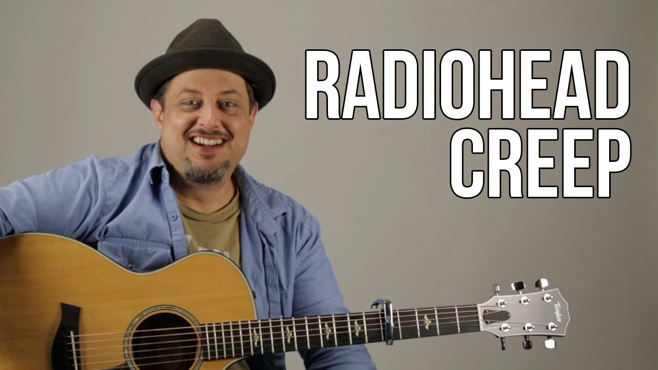Creep – Radiohead – Guitar Lesson – How to Play on Guitar – Tutorial