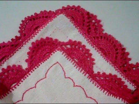 Puntilla N° 13 en tejido crochet tutori - Youtube Downloader mp3