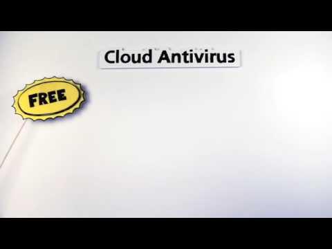 top windows antivirus free panda cloud antivirus in black and white. Black Bedroom Furniture Sets. Home Design Ideas