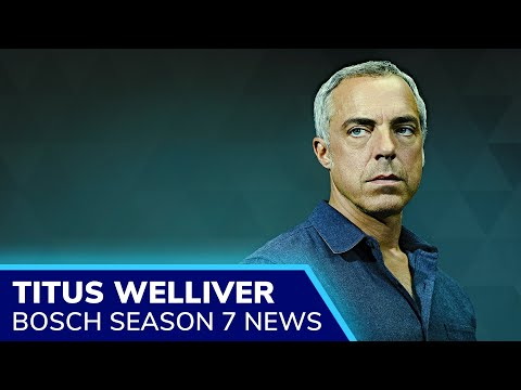 BOSCH Season 7 will be the final story of Harry Bosch (Titus Welliver) as Amazon cancels the show