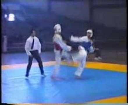 Taekwondo KO Brutal