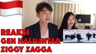 Download Lagu Reaksi GEN HALILINTAR - ZIGGY ZAGGA (Music Video) | 11 Kids + Parents Reaction Mp3