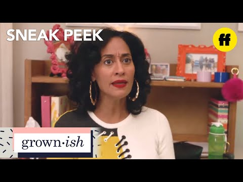 grown-ish | season 1, episode 6 sneak peek: mom?! | freeform