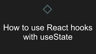 How to use React hooks with useState
