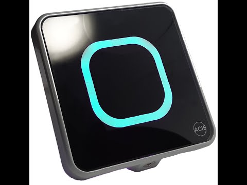 PB-CLASS: Botón pulsador sin contacto o al roce
