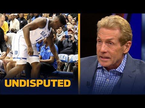 Skip Bayless urges Zion Williamson to 'shut it down' at Duke & wait for NBA Draft | CBB | UNDISPUTED