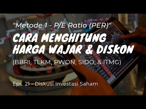 Menghitung Harga Wajar & Diskon Menggunakan Valuasi PER - Investasi Saham untuk Pemula - Eps. 21