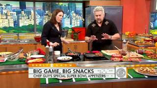 Guy Fieri's Super Bowl Appetizers