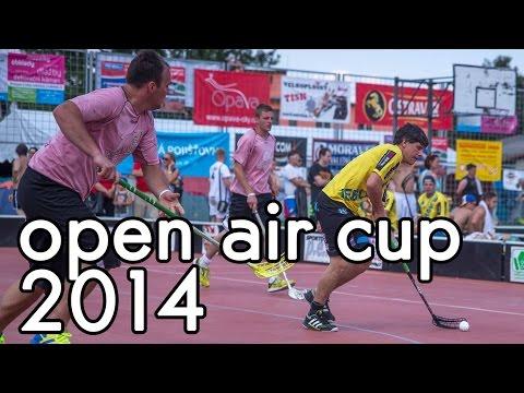 Open air cup | Mezinárodní florbalový turnaj trojic v Píšti | 25.-26.7.2014