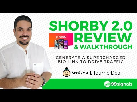 Watch 'Shorby 2.0 Review - Drive More Traffic from Instagram with a New & Improved Shorby  [AppSumo Deal] - YouTube'
