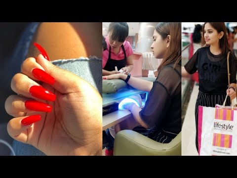 Gel nails - I Got Gel Nail Extensions - Step by Step