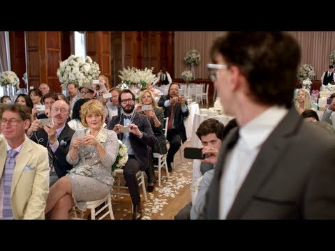 Commercial - Microsoft creates an Apple vs. Samsung wedding fight for its new Windows Phone ad. Microsoft has tried a number of ways to advertise Windows Phone handsets, ...
