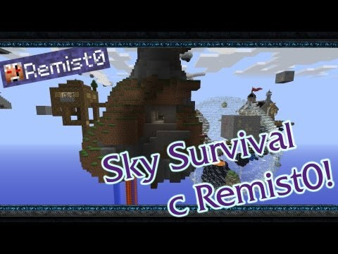 КОРОЛЬ ЗОМБИ! Minecraft. Sky Survival.