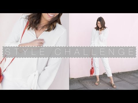 Style Challenge: A Week Of Not Wearing Black | The Anna Edit (видео)