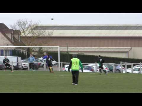 Ralenti du but de Yohan (0-4) lors du match Nanteuil lès Meaux contre Pommeuse (1-6) (26-02-2017)