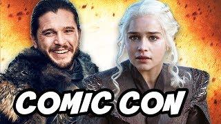 Game Of Thrones Season 7 Comic Con Promo and Episode Schedule. Comic Con 2017 Footage, Game Of Thrones Season 7 Episode 1, Episode 2 and Finale ...