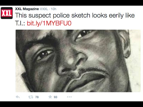 XXL says Rapper T.I. looks like Police Suspect