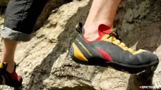 Скальные туфли с асимметричной шнуровкой La Sportiva Testarossa