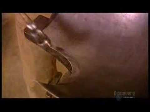armour - How a suit of armour is made.