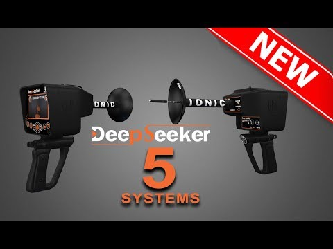 Gold and Treasure Detectors  - Deep seeker device  5 systems Made in Germany