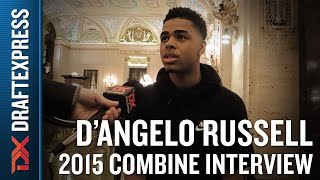 D'Angelo Russell 2015 NBA Draft Combine Interivew