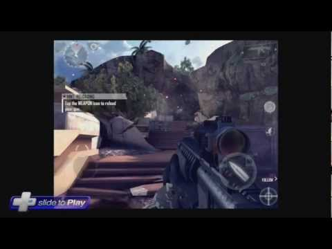 Modern Combat 4: Zero Hour for iPhone and iPad Hands-On Gameplay Footage