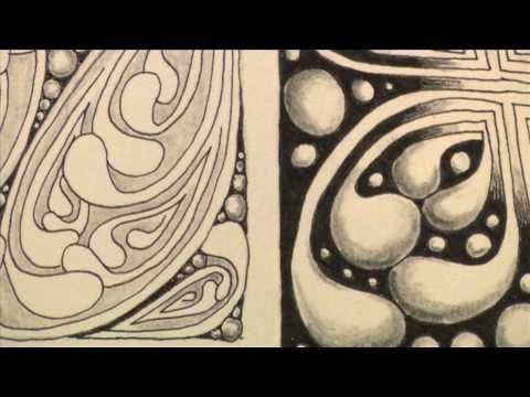 Mooka: Official Zentangle® pattern