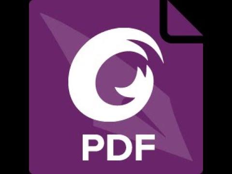 شرح برنامج Foxit PhantomPDF  للتعديل على مل�ات ال pdf وازالة العلامة المائية