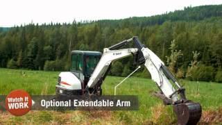 3. Watch It Work: Bobcat E55 Compact Excavator