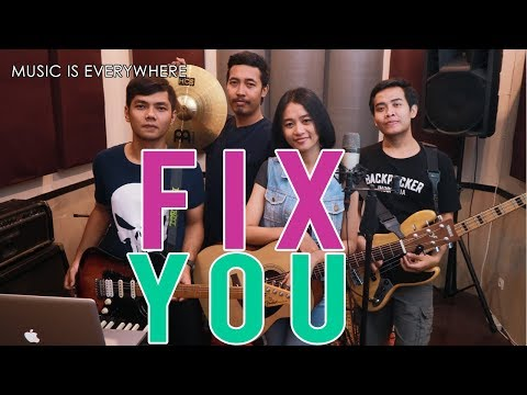 Fix You - ColdPlay - Cover Band [ Music Everywhere GabStudio ] Mp3