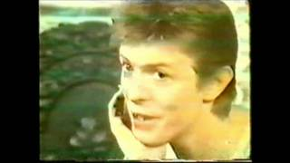 Unbroadcasted interview Toppop 1977 pt.1