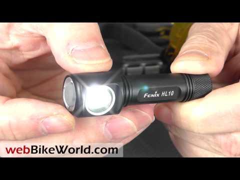 Відеоогляд ліхтарика Fenix HL10