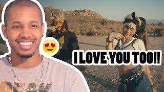Video AGNEZ MO - DAMN I LOVE YOU REACTION MP3, 3GP, MP4, WEBM, AVI, FLV September 2018